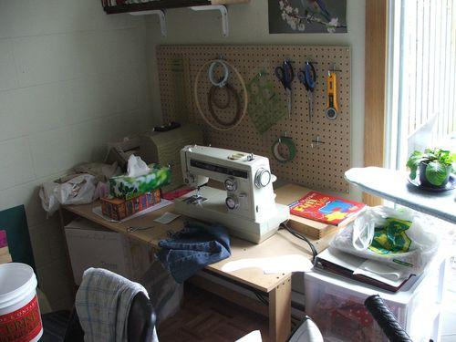 DSCF1846 - Sewing Area