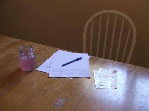 DSCF3478 - Writing a Letter